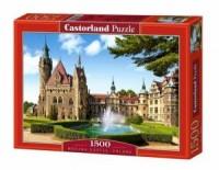 Polska zamek Moszna (puzzle - 1500 - zdjęcie zabawki, gry