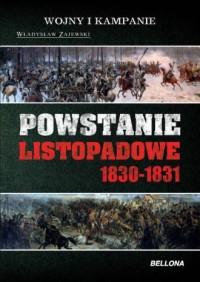 Powstanie Listopadowe 1830-1831 - okładka książki