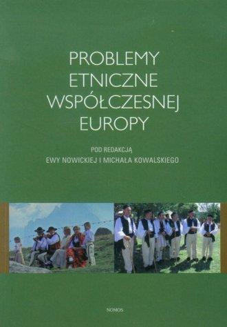 Problemy etniczne współczesnej - okładka książki