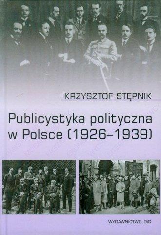 Publicystyka polityczna w Polsce - okładka książki