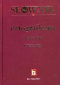 Słownik ortograficzny + gramatyka - okładka książki
