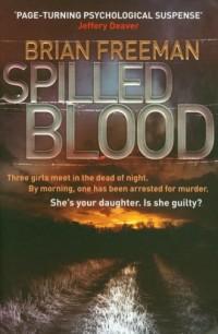 Spilled blood - okładka książki
