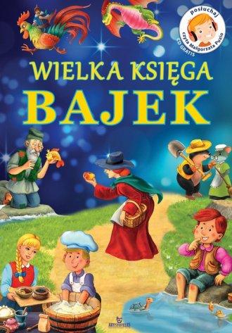 Wielka Księga Bajek (+ CD) - okładka książki