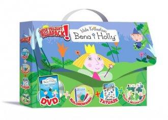 zabawka, gra -  Ma�e kr�lestwo Bena i Holly (DVD + kolorowanka + puzzle magnetyczne). PAKIET - Wydawnictwo Welpol Adventure