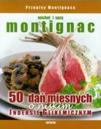 50 dań mięsnych o niskim indeksie glikemicznym - okładka książki