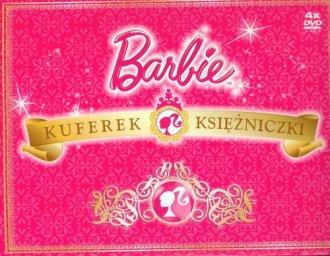 Barbie kuferek księżniczki (4 DVD) - okładka filmu