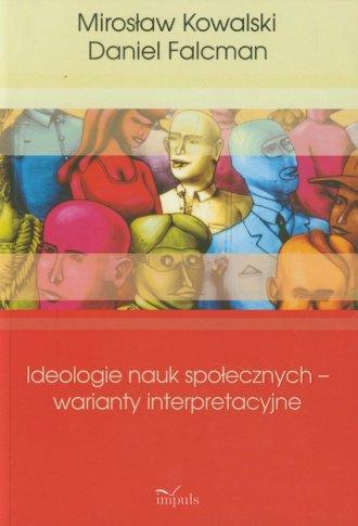 Ideologie nauk społecznych - warianty - okładka książki