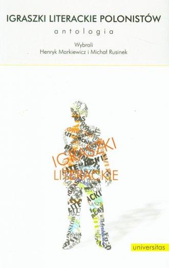 Igraszki literackie polonistów. - okładka książki