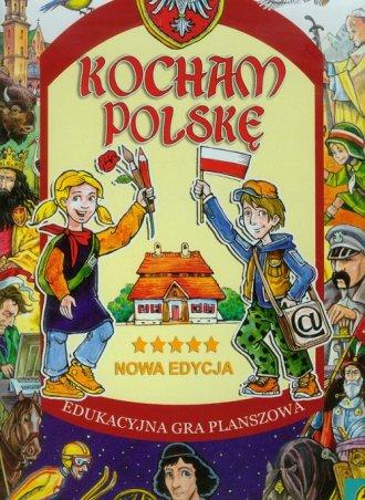 Kocham Polskę. Edukacyjna gra planszowa - zdjęcie zabawki, gry
