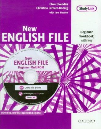New English File. Beginner Workbook - okładka podręcznika