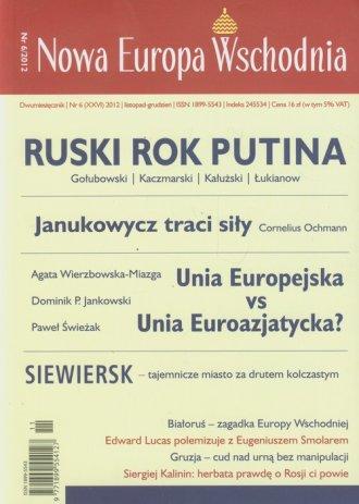 Nowa Europa Wschodnia nr 6/2012 - okładka książki