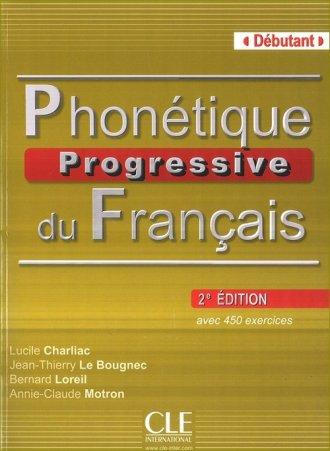 Phonetique Progressive du Francais. - okładka podręcznika
