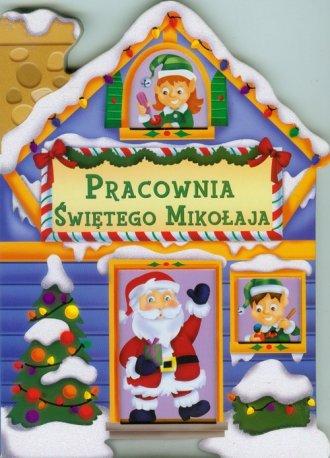 Pracownia Świętego Mikołaja - okładka książki