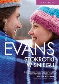 Stokrotki w śniegu - okładka książki