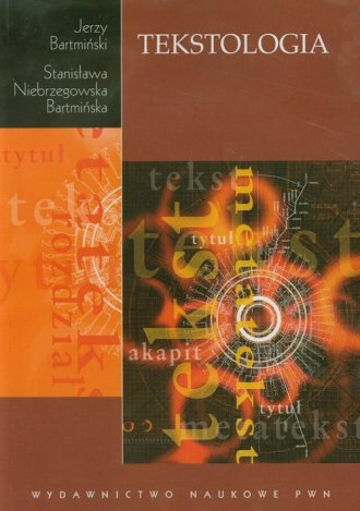 Tekstologia - okładka książki