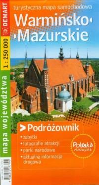 Warmińsko-mazurskie. Turystyczna - okładka książki