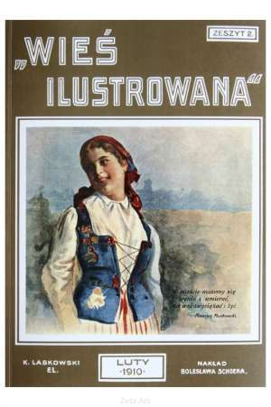 Wieś ilustrowana. Zeszyt 2 - zdjęcie reprintu, mapy
