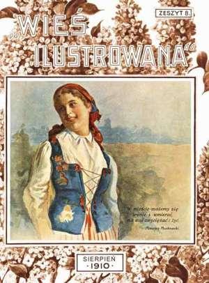 Wieś ilustrowana. Zeszyt 8 - zdjęcie reprintu, mapy
