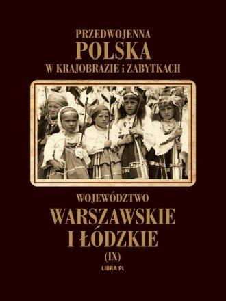 Województwo warszawskie i łódzkie. - okładka książki