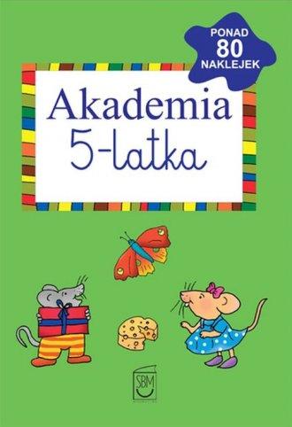 Akademia 5-latka - okładka podręcznika