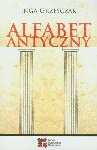 Alfabet antyczny - okładka książki
