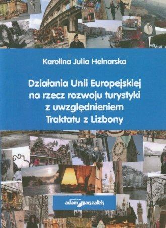 Działania Unii Europejskiej na - okładka książki