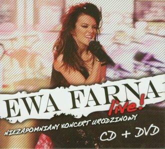 Ewa Farna Live. Niezapomniany koncert - okładka filmu