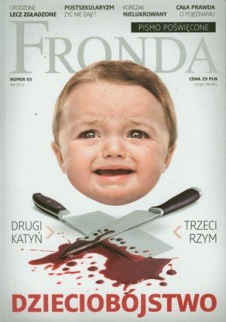 Fronda nr 65. Dzieciobójstwo - okładka książki