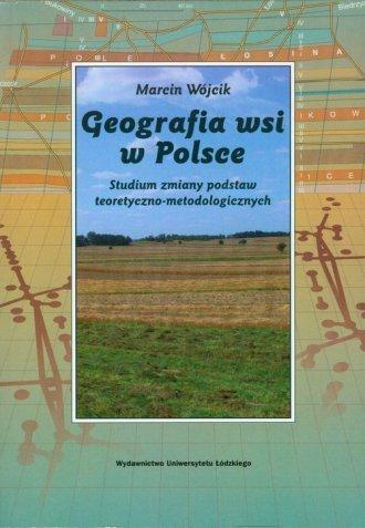 Geografia wsi w Polsce. Studium - okładka książki