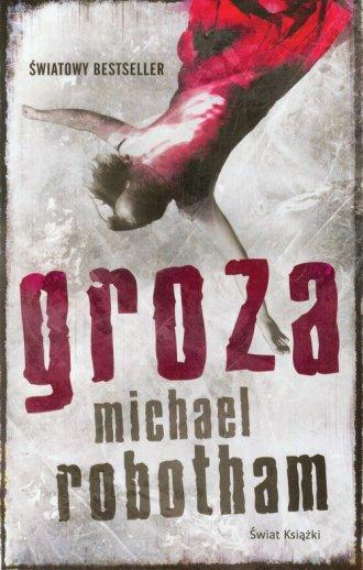 Groza - okładka książki