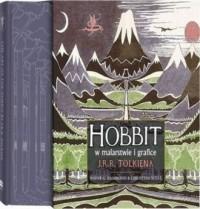 Hobbit w malarstwie i grafice J.R.R. Tolkiena - okładka książki