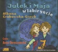 Julek i Maja w labiryncie (CD mp3) - pudełko audiobooku