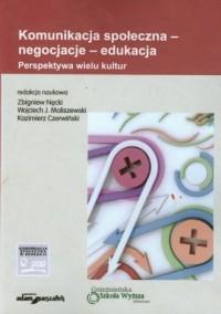 Komunikacja społeczna - negocjacje - okładka książki