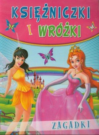 Księżniczki i wróżki. Zagadki - okładka książki