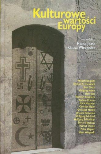 Kulturowe wartości Europy - okładka książki