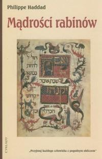 Mądrości rabinów - okładka książki