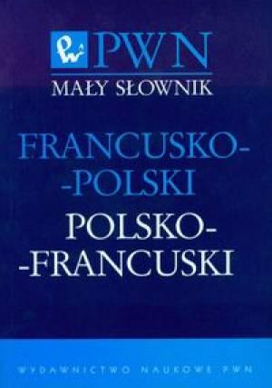 Mały słownik francusko-polski, - okładka podręcznika