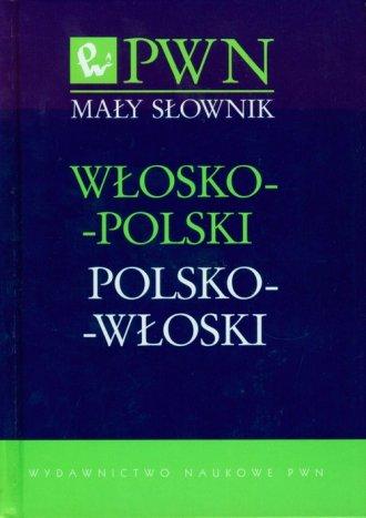 Mały słownik włosko-polski, polsko-włoski - okładka podręcznika