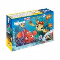 Nemo (puzzle dwustronne 2 w 1 + mazaki) - zdjęcie zabawki, gry