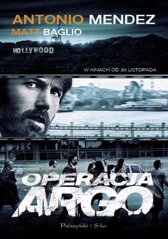 Operacja Argo - okładka książki