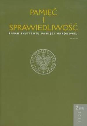 Pamięć i Sprawiedliwość nr 2(18)/2011 - okładka książki