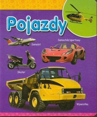 Pojazdy - okładka książki
