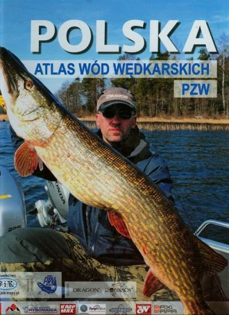 Polska. Atlas wód wędkarskich PZW - okładka książki