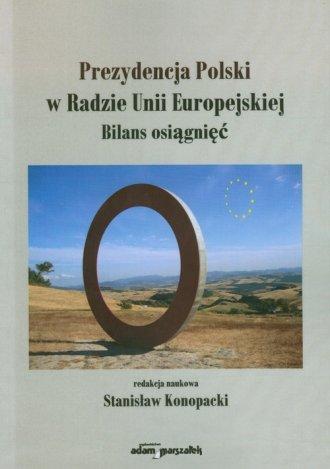 Prezydencja Polski w Radzie Unii - okładka książki