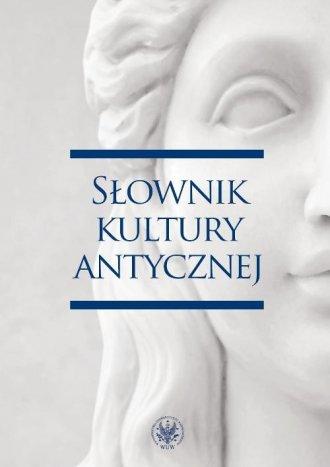 Słownik kultury antycznej - okładka książki