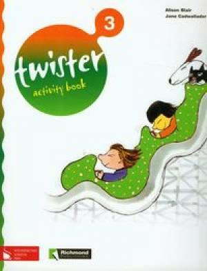Twister 3. Activity book - okładka podręcznika