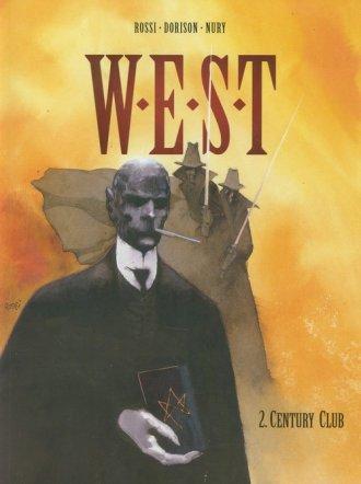 W.E.S.T. Tom 2. Century Club - okładka książki