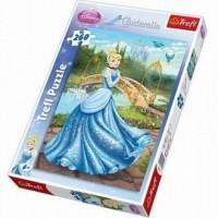 Zaczarowana suknia (puzzle - 260 elem.) - zdjęcie zabawki, gry