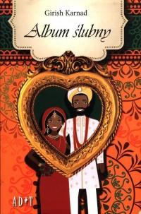Album ślubny - okładka książki