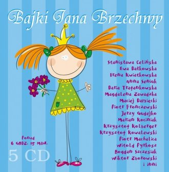 Bajki Jana Brzechwy (CD audio) - pudełko audiobooku